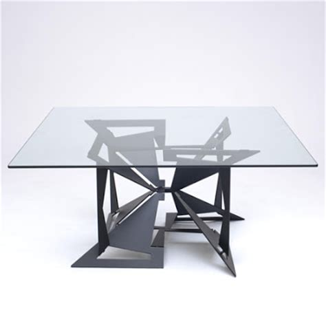 umadapparel sheet metal origami a table