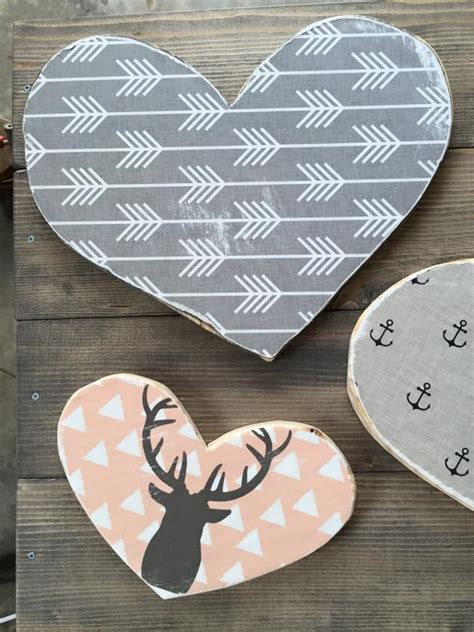 Heart Home Decor Wood Heart Pallet Sign Reclaimed Wood Diy Pallet