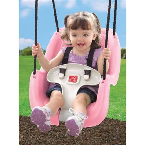 outdoor baby swing walmart step2 toddler swing pink walmart com