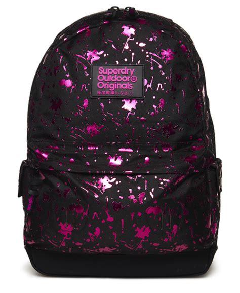 superdry splatter montana rucksack s bags