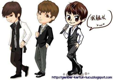 gambar kartun lucu gambar kartun korea
