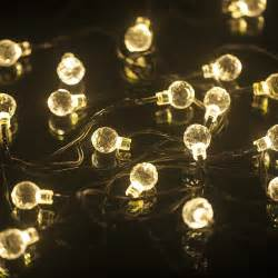 solar string lights outdoor solar powered outdoor string lights from inst front yard