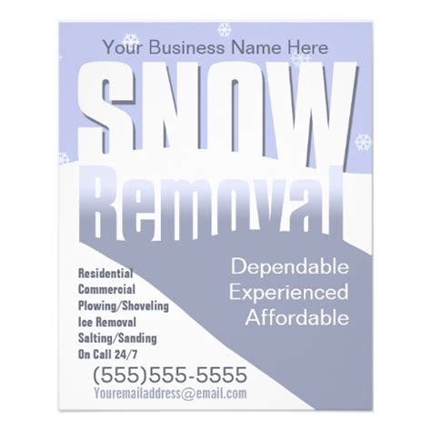 templates brochure snow removal snow plowing flyers www imgkid com the image kid has it