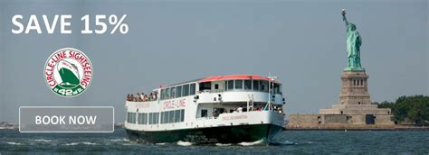 nyc boat show promo code circle line discount coupon codes statue of liberty cruise