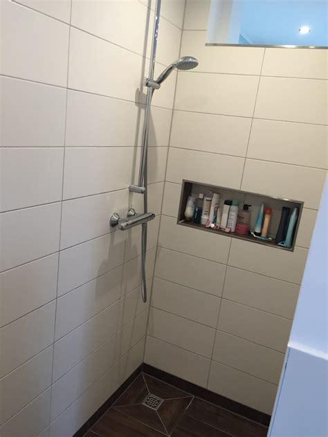 gemauerte dusche duschablage unser ablagefach in der gemauerten dusche