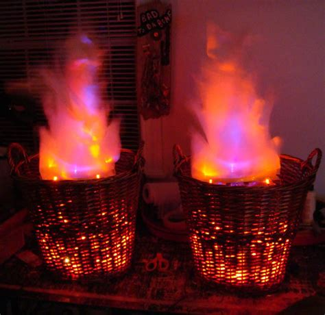 Artificial Fireplace Flames by Haunt Your House 18 Ideas To Create The Spookiest Place
