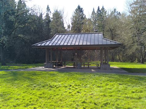 shelters in oregon file noble woods park picnic shelter hillsboro oregon jpg wikimedia commons