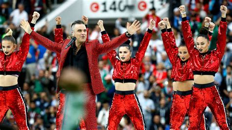 world cup 2018 fifa world cup 2018 opening ceremony highlights robbie