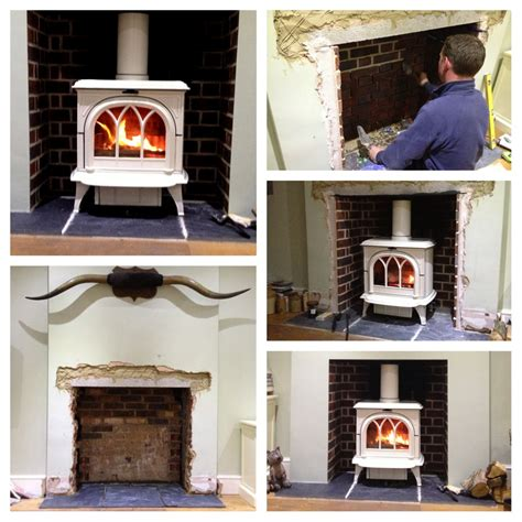 Installing Wood Fireplace by Stove Installation Photos Exles Of Our Work Firecrest