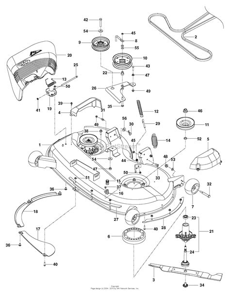 husqvarna lawn mower parts diagram husqvarna rz 46i 967277604 2014 03 parts diagram for