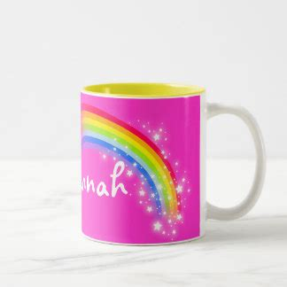 Kung Souvenir Kulot Rainbow Five Pink name gifts on zazzle