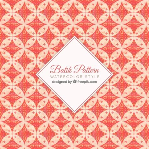 batik pattern vector ai batik ornamental pattern vector free download