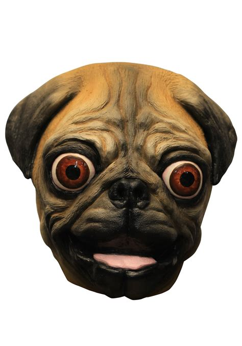 pug mask happy pug mask