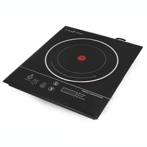 induction stoves snappy chef 1 plate induction stove snappy chef