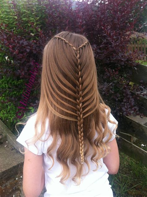 cool braids for hair twist waterfall into mermaidbraid by molliebanks5 on