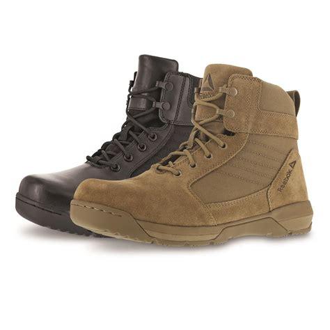 mens reebok boots reebok s strikepoint 6 quot duty boots 660964 combat