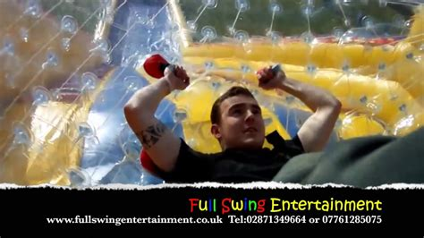 Roller Ball Hire By Full Swing Entertainment Bouncy Castle
