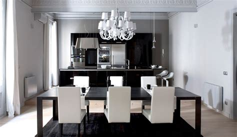White And Black Dining Room Table Contemporary And Modern Dining Tables Black And White Best Design Dining Table