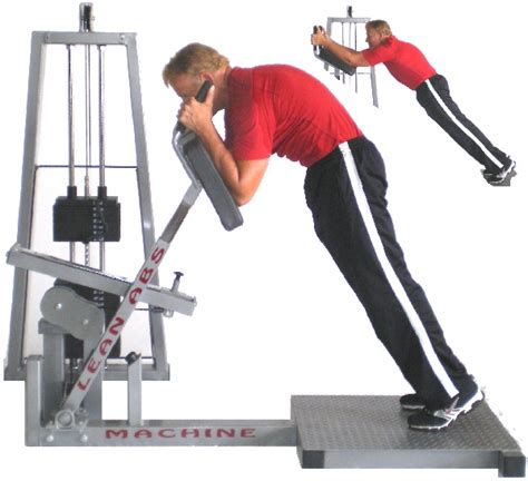 heavy  commercial lean abs machine