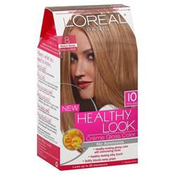 the counter ammonia free hair color l oreal healthy look hair dye creme gloss color medium