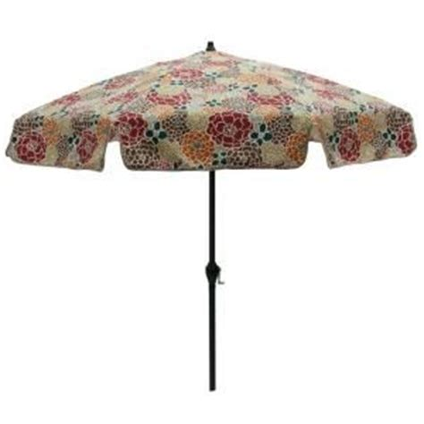 Patterned Patio Umbrellas Patio Umbrella Floral Pattern Floral Design Patio