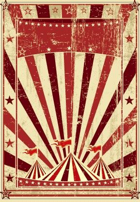 vintage circus background vector graphic 03 vector