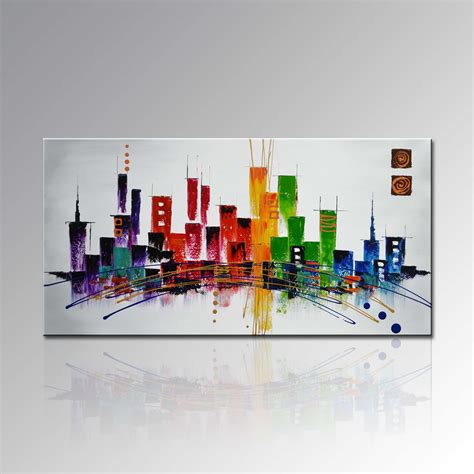 china modern home decoration wall abstract palette