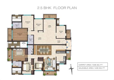 2 5 Bhk Floor Plan | awesome 2 5 bhk floor plan images flooring area rugs