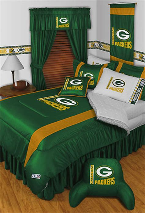 packers comforter new nfl green bay packers queen comforter bedding set ebay