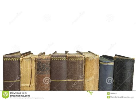 Scaffali Libri by Vista Frontale Di Vecchi Libri Impilati Su Uno Scaffale