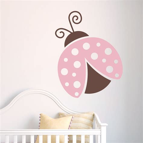 ladybird wall stickers lovely ladybug wall decal