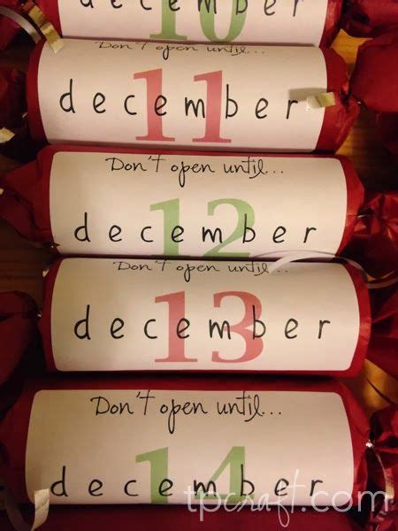 tpcraftcom  unconventional advent calendar christmas