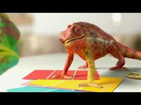 chameleon valspar paint tv commercial ad commercials i tvs valspar and