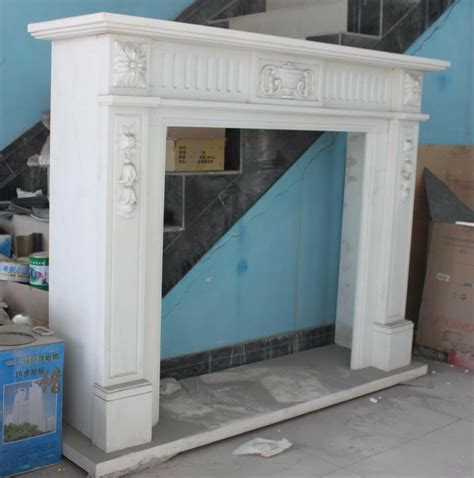 marble mantel fireplace carved marble fireplace mantel white with