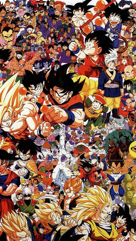 dragonball full art illust game anime iphone  wallpaper