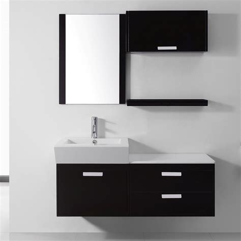 modern mirrored bathroom cabinet with 3 shelves white bathroom magnificent modern single sink bathroom