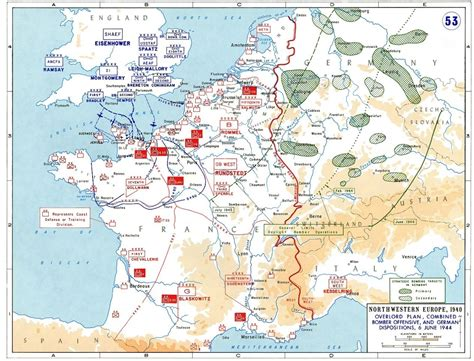 d day map the story of d day in five maps vox