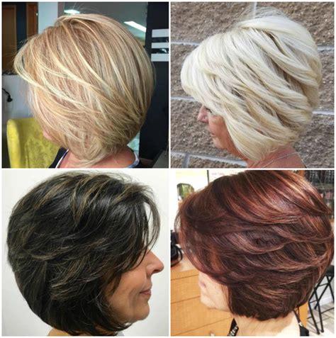modische frisuren fuer frauen ab  und haarfarben die