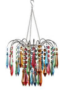 multi colored chandelier faceted waterfall chandelier multi colored