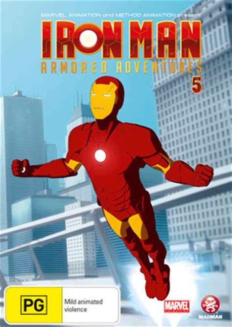 iron man armored adventures volume