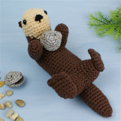 amigurumi otter pattern blog planetjune by june gilbank 187 amigurumi sea otter