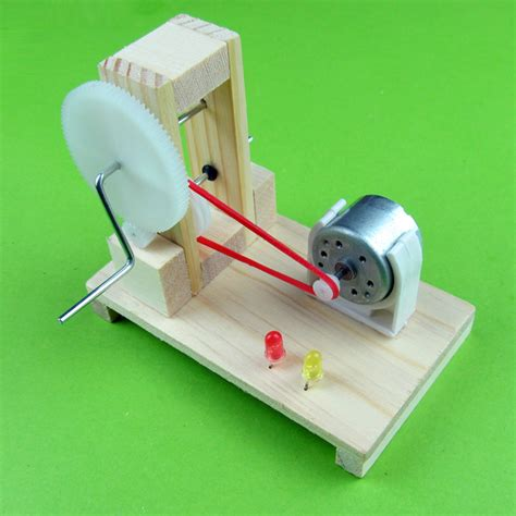 Handmade Science Models - diy small production technology dynamo