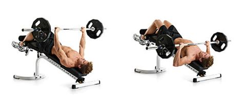 how to do decline bench press without a bench decline barbell bench press bodybuilding wizard