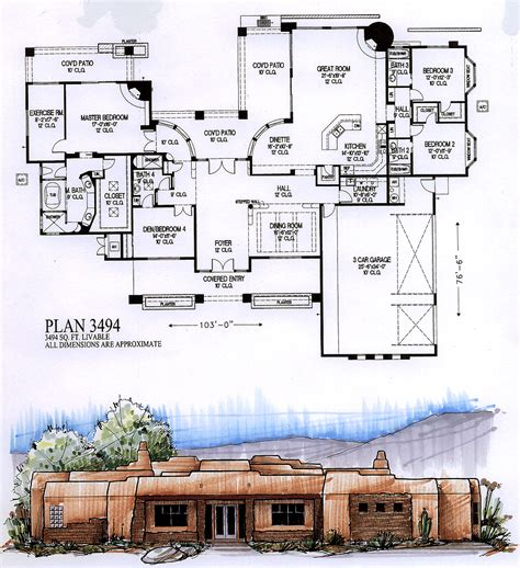 how big is 3500 square feet house plans over 7000 square feet house plans