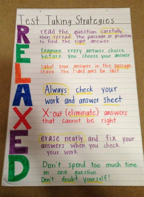 reading comprehension test taking strategies best 25 test taking strategies ideas on pinterest test