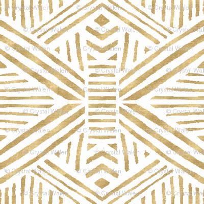 wallpaper tribal gold tribal geometric gold wallpaper crystal walen spoonflower