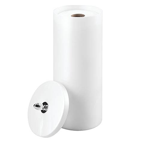 free standing toilet paper holder with storage interdesign orb free standing toilet paper roll holder for