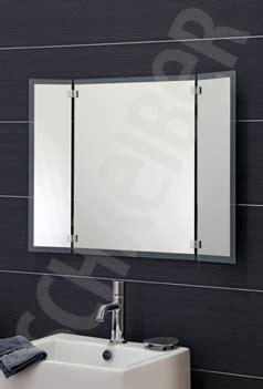 badezimmerspiegel 3 teilig klappspiegel badspiegel discount wandspiegel