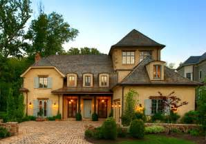 French Country Style House by A New House Inspired By Old French Country Cottages