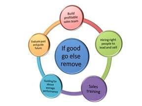 what is sales management sales management process